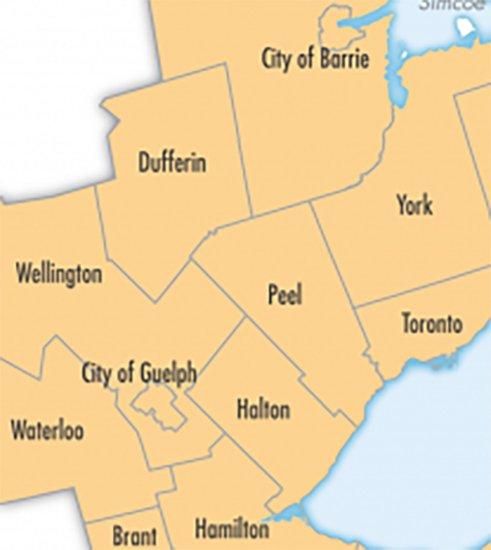 Serving Guelph, Toronto, Mississauga, Barrie, Hamilton