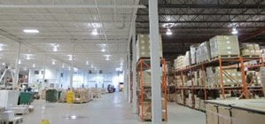 clean and organized warehouse